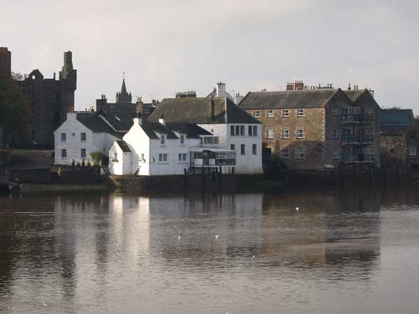 View across the River Dee to Kirkcudbright